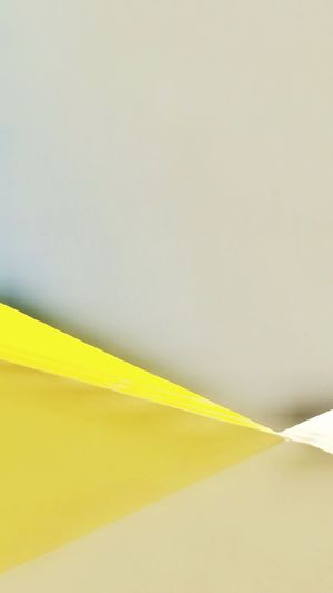 building detail and sky The Graphic City Yellow No People Close-up Backgrounds Day Surfaces And Textures Abstract Minimalist Photography  Perspective Building Exterior Architecture Geometric Shape Minimal Arch Decoration Built Structure Playing With Perspective Light And Shadow Detail Colour Your Horizn