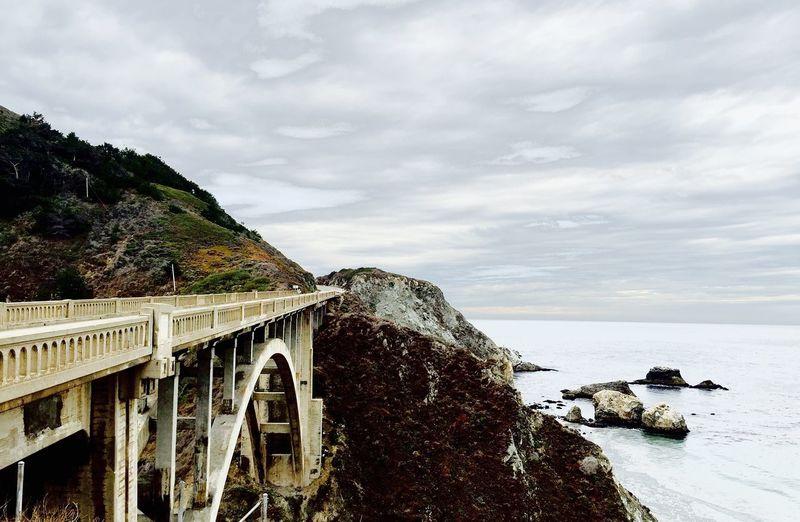 Rocky Creek Bridge Carmel Nor Cal Hwy IPhone