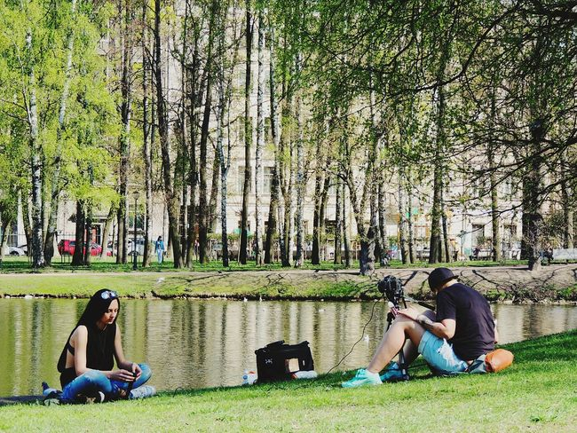 Photosession Tavrichesky Garden Streetphotography Park Sankt-peterburg Spring Is Coming  The Street Photographer - 2016 EyeEm Awards