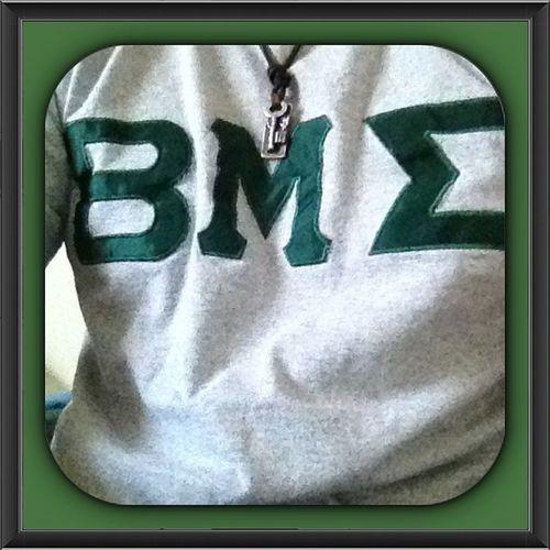 Greekwednesday Letters Actuallygreek BMS betamusigma green grey jimbogram instagram picoftheday ill livelife follow doubletap like college comment leggo