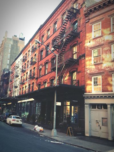 First pic! Great app! First Eyeem Photo Tribeca NYC NewYearsDay2015 The Best Of New York Laughing Man Coffee