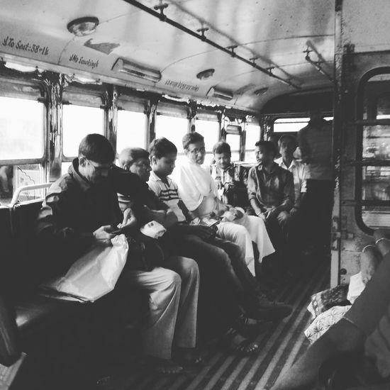 Precursor to adult musical chairs.... Kolkata Kolkatadiaries Kolkatacity Busrides Blackandwhite Streetphotography Daily Commute Daily Life