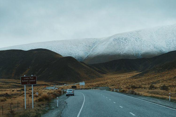 Lindis Pass Lindispass Newzealand Newzealandphotography Newzealandnatural NZ Road Roadtrip