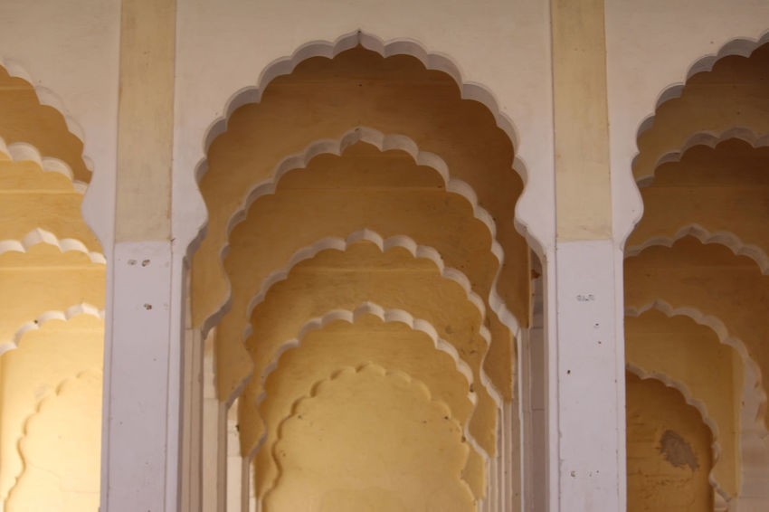 Ancient Architecture Artistic India King Palaces Rajasthan Jaipur Rajput Glory Arch Arches Architecture Buildings History Low Angle View No People Rajasthan Rajshthan Royal Palace Travel Destinations