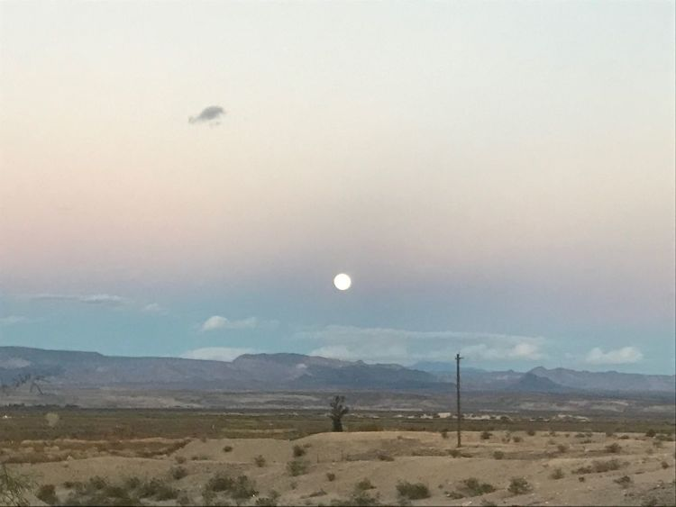 Moon Landscape Scenics Sky Nature Beauty In Nature Outdoors Tranquility Tranquil Scene No People Mountain Astronomy Iphonephotography EyeEm Nature Lover Arid Climate No Filter No Edit Day