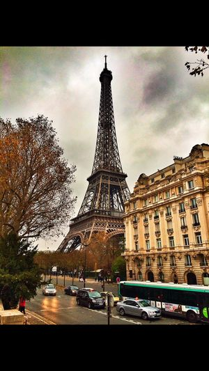 Paris France Eifel Tower Architecture_collection Atmosphere