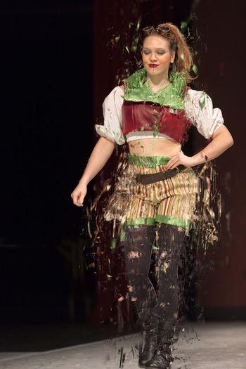 JCCC Fashion Show Fashion model