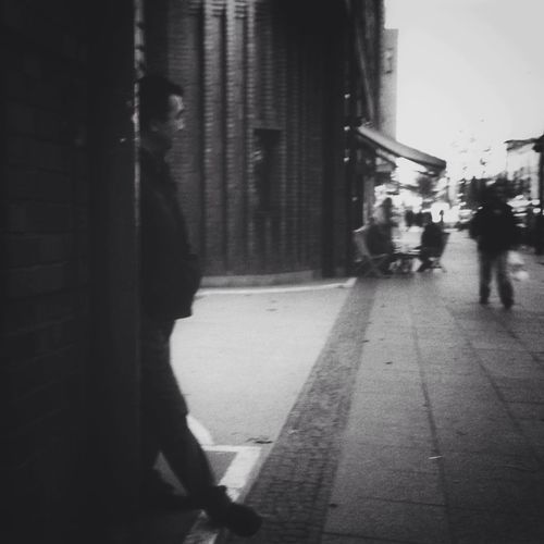 Streetphotography Blackandwhite Streetphoto_bw Around The Corner