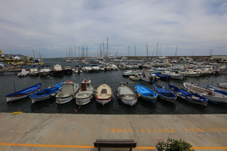San Remo, Italy San Remo Architecture Building Exterior Built Structure City Commercial Dock Day Harbor Italy Mode Of Transport Moored Nature Nautical Vessel No People Outdoors Sky Transportation Water
