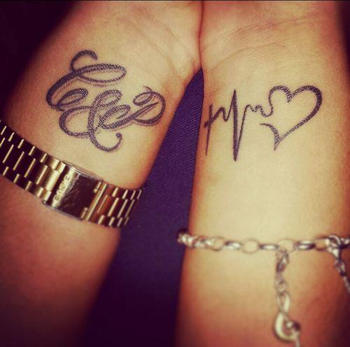 Tattoo love ❤ Tattoo Tattooed TattooLove Inked INKEDGIRL Black Liquid Style Bodymodification Fashion Love Beauty Myself Mylife