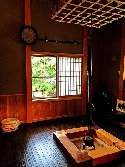 菊田さん家の一部屋 和 囲炉裏 豪華 家
