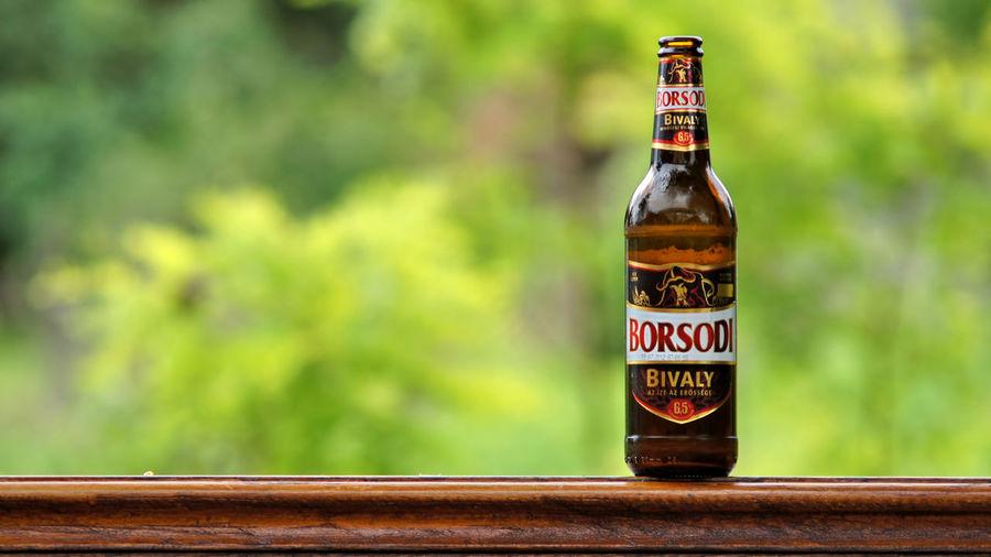 Drink Bottle Alcohol Food And Drink Borsodi Sör Borsodi Miskolc Magyarország Label Borsodi Bivaly Beer Sashalmi