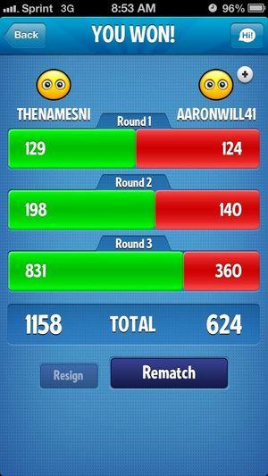Beat Aaron!!