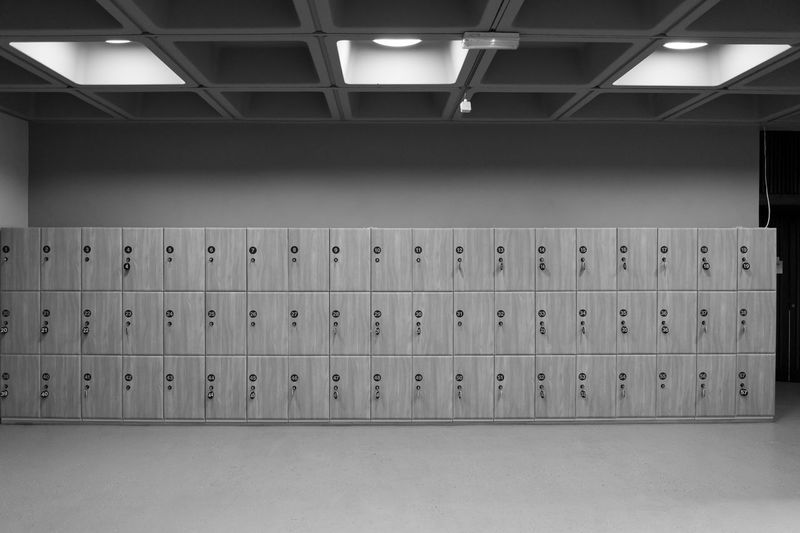 Lockers In Room