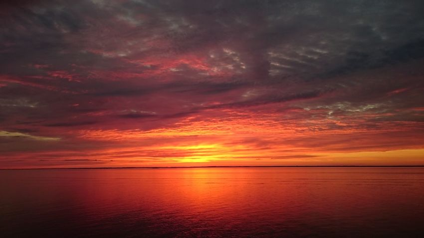 Awe Beach Beauty In Nature Cloud - Sky Day Dramatic Sky Horizon Over Water Idyllic Majestic Nature No People Orange Color Outdoors Reflection Scenics Sea Sky Sunset Tranquil Scene Tranquility Water