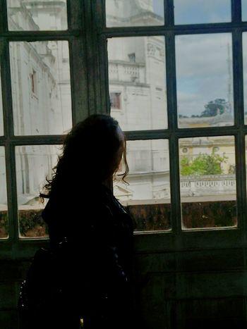 V2 Me Metalhed Metalheadgirl Mafra Lisbon Convento De Mafra Window EyeEm Editing