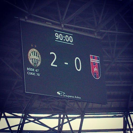 """A """"nagy"""" bajnok csapat két meccsen kapott egy hatost... :-D Ferencváros FTC  Fradi Hajrafradi Ezüstérem Mennyei Utolsómeccs Football Silvermedal Lastmatchoftheseason"""