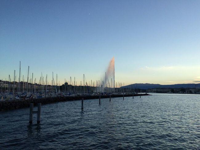 Geneva Jetdeau Geneva Switz Lake Life Photography