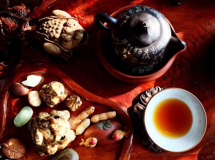 茶和壶与茶宠 First Eyeem Photo