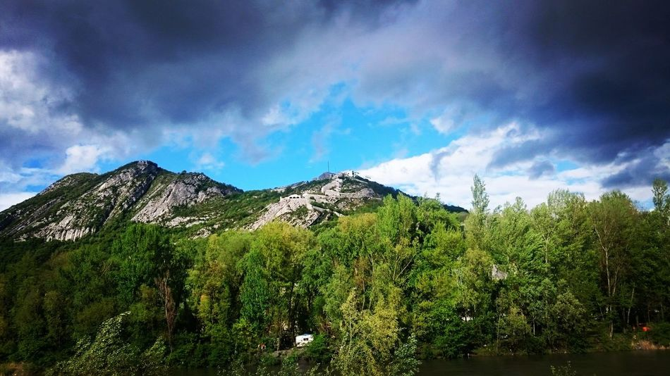 Beauty In Nature Blue Sky Blue Sky And Clouds Cloud Cloud Cloud - Sky Cloudy Forest Green And Grey Grenoble Grey Clouds Landscape AlpsMountain Mountain Range Nature Outdoors Sky Weather France