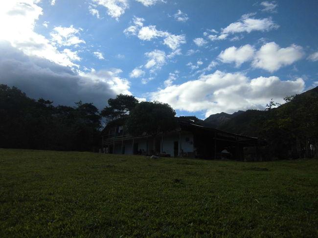 La casa de mis abuelos. Amazonas Selva Nature Oldhouse