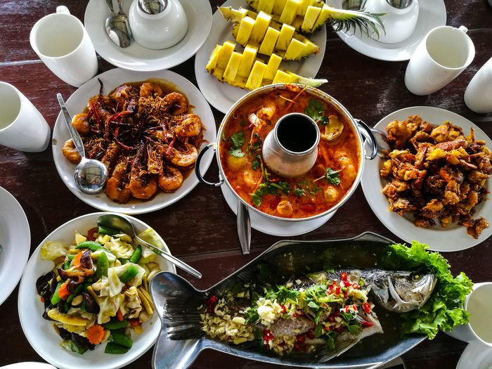 Seafood Halal in Pangnga Plate Ready-to-eat Food Freshness Food And Drink Table Indoors  Serving Size No People High Angle View Indulgence Bowl Healthy Eating Temptation Close-up Day Thailand🇹🇭 Food And Drink Cultures Halalfood Halal Love💝 Islamfood Travel Travel Destinations