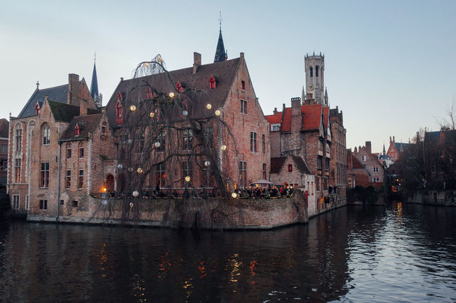 Architecture Building Exterior Canal City Cityscape Cityscape Cultures Day Medieval Medieval Architecture Nautical Vessel No People Outdoors River Sky Tourism Town Travel Travel Destinations Urban Skyline Vacations Water