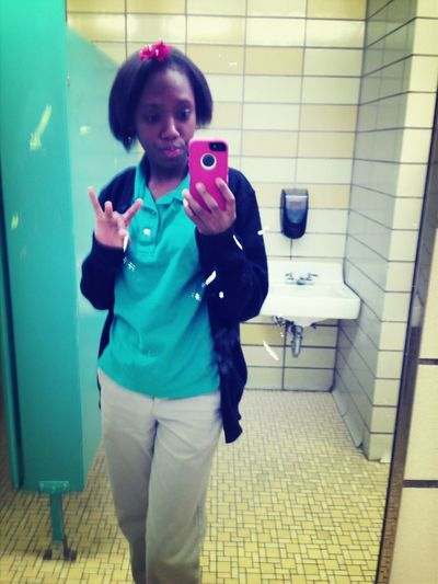 Me Coolin It At School