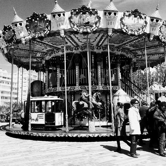 The carrousel never stop turning , and you can never get off Carrousel Of Life Childhood Grey's Anatomy Blackandwhite