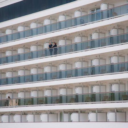 Hafen Hamburg Cruiser Queenelizabeth Hafengeburtstag Kreuzfahrtschiff Balkonr