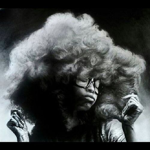 Oh yeah...Erykah On-and-On Badu!!! ErykahBadu Badu Afro Fro Frotastic TeamNatural