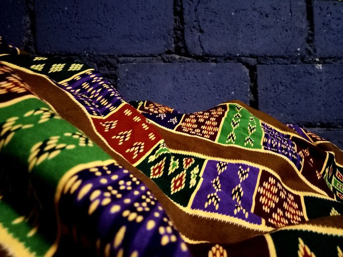 Malong Day Outdoors Multi Colored No People Close-up Be. Ready. EyeEmNewHere