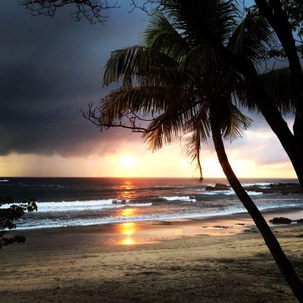 Sunset in Nosara, Costa Rica DeLeonStrong Optoutside