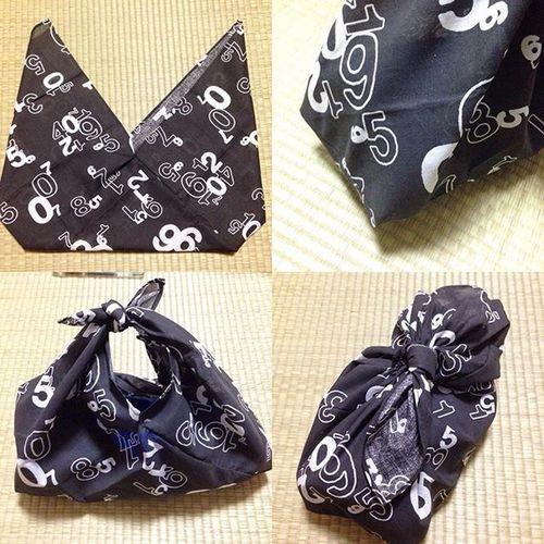 手ぬぐい 100均 風呂敷 手拭い セリア 100円均一 手縫い あずま袋 ハンドバッグ