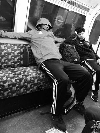 Bakerloo line, nr Oxford Circus Street Streetphotography Streetphoto_bw Monochrome Black And White People Tube Travel Public Transportation London Underground Blackandwhite