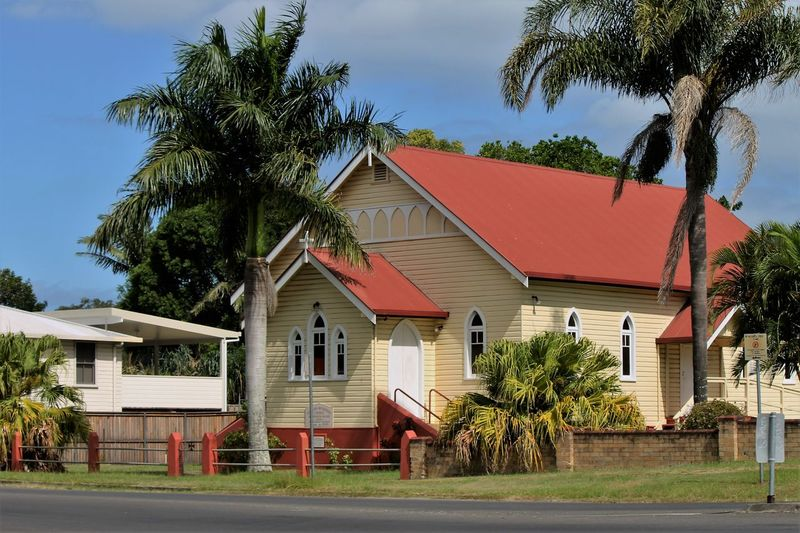 Architecture At Lismore Church For Country People Enjoying The View Great Little Country Church Great Place To Visit Palm Trees ❤❤ Very Beautiful