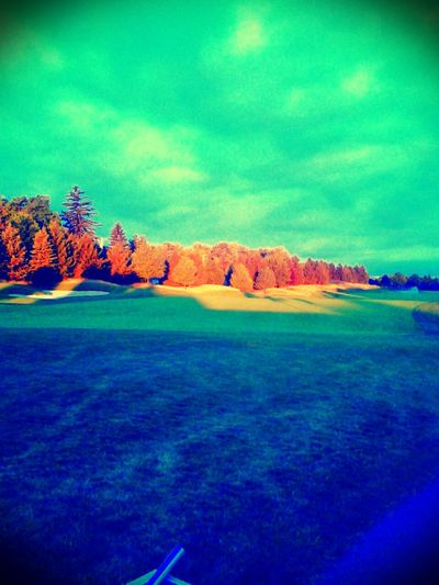 Golf Beauty Nature Sunrise