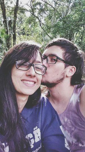 Porque tirando essa minha cara a nossa foto ficou linda <3 First Eyeem Photo