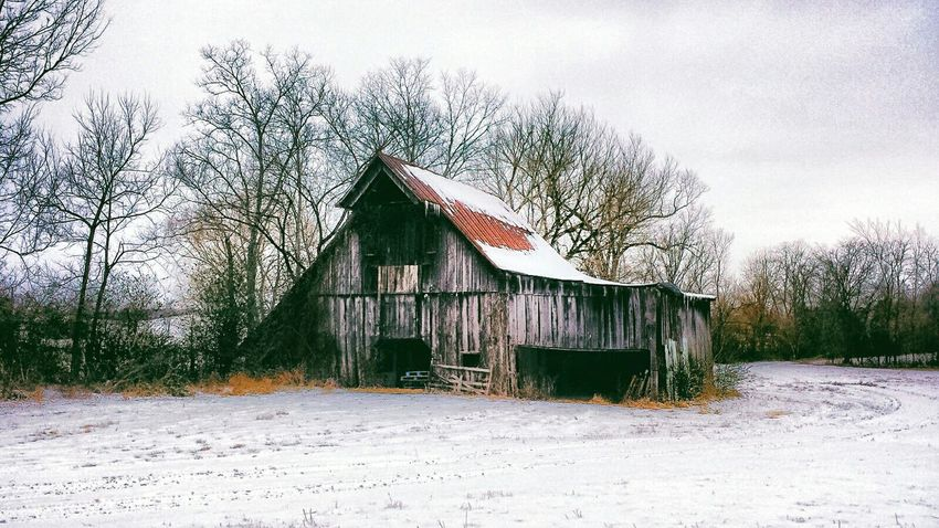 Old Barn Landscape Landscape_Collection Winter_collection Nature Nature_collection Rustic Style Rustic Barn