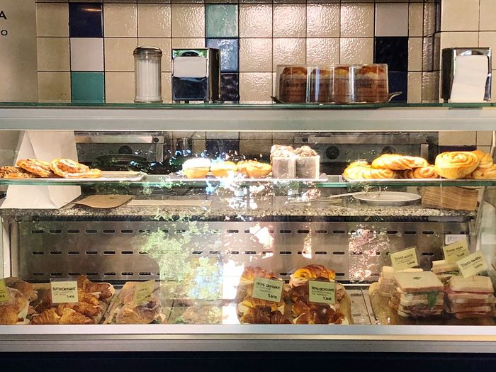 View of food in store