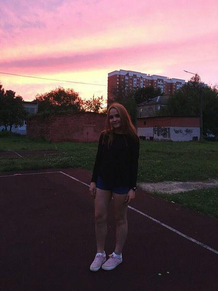закаты алые🌌 Закат москва russiaМосква✨ First Eyeem Photo