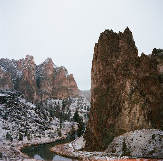 Smith Rock on Film Smithrock Pacific Northwest  Snow Film Landscape Nature