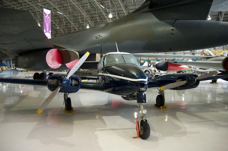 Airplanes at hangar