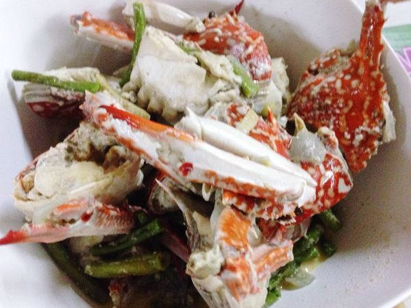 My World Of Food Crab with Coconut Milk is ❤️❤️❤️ Food
