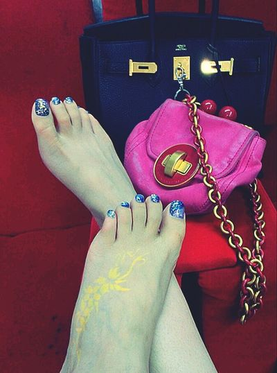 My Tattoo Self Nail Marc Jacobs Hermes relax