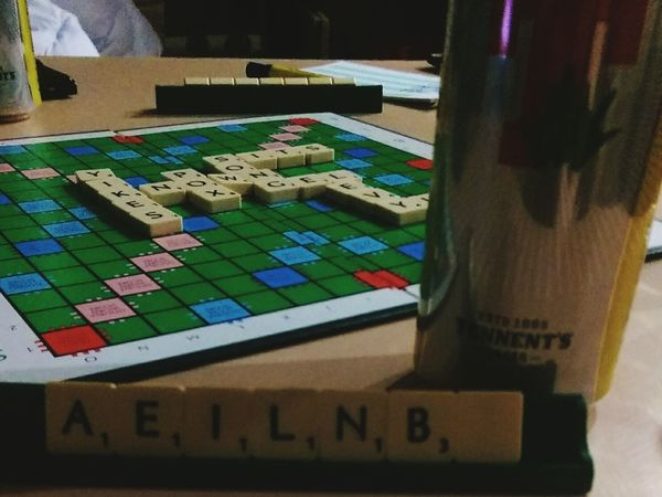 Beer&scrabble Hanging Out Ayrshire Enjoying Life