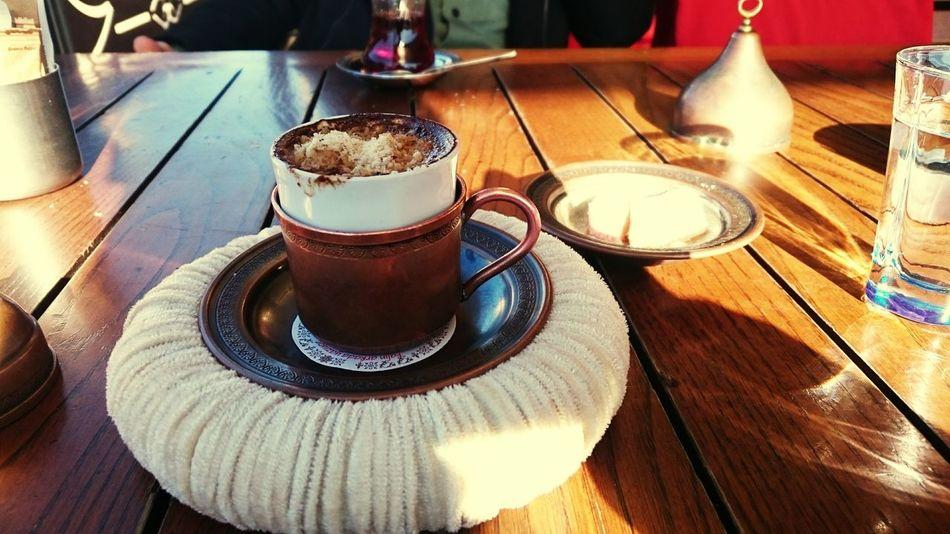 Bi kahve ...