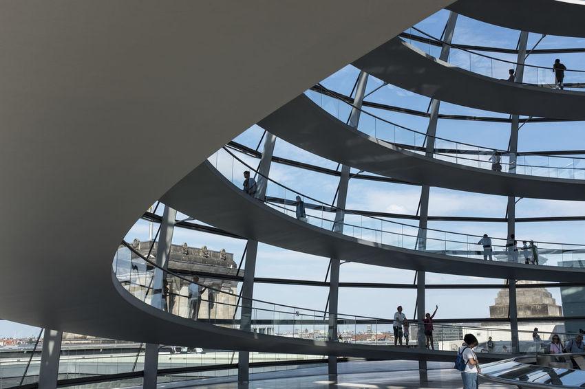 Architecture Silhouette Berlin