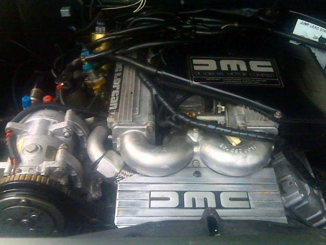 Arts Culture And Entertainment Back To The Future Clean Car Engin Delorean DeloreanDMC Dmc DMC DeLorean Doc's Time Machine Engine Time Machine
