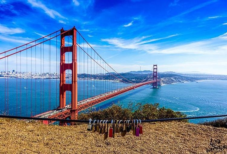 The beautiful golden gate Bridge. Shot with my Sony a6000 with the kit 18-55mm lense. It looks like more Locksoflove in the future so bring some to make this spot even more special. Go my my Facebook page. Link in my bio. GoldenGateBridge SF Sanfrancisco California Sonyalpha AlwaysSF Nowrongwaysf Wildcalifornia Rawcalifornia Wildbayarea Roadtrippers Discovertheroad TeamTravelers Wanderlust Sonyimages Sony Streetsofsf Bayarea Travel Neverstopexploring  Outdoors Showcase April